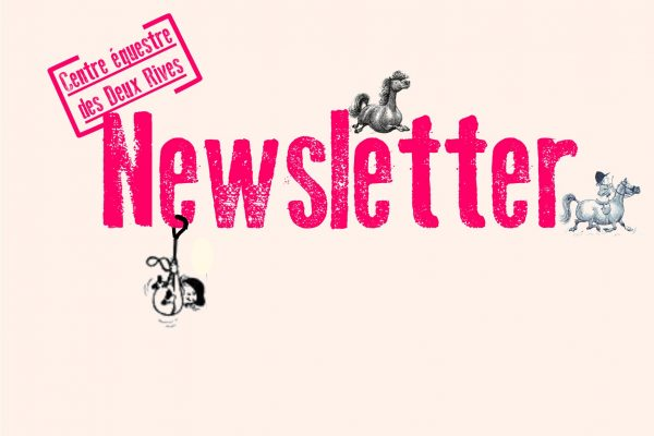 Newsletter de Avril