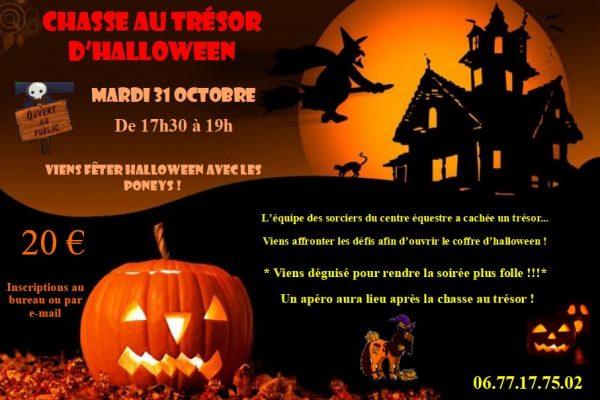 Chasse au trésor d'Halloween