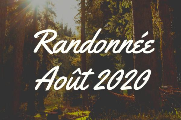 Randonnée Août 2020